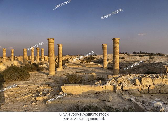 Nitzana, Roman dead city, Negev desert, Israel