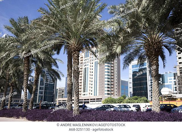 Residential blocks on Deira side in Dubai