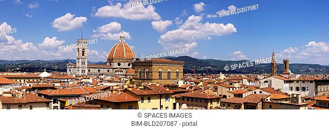 Florence Skyline and Duomo Santa Maria del Fiore