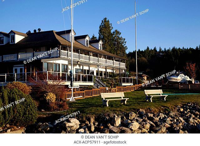 Lund Hotel, Lund, Strait of Georgia, Sunshine Coast, British Columbia, Canada