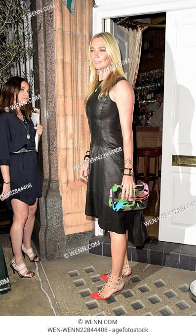 Amanda Wakeley private dinner with Vogue Featuring: Jodie Kidd Where: LONDON, United Kingdom When: 08 Sep 2015 Credit: WENN.com