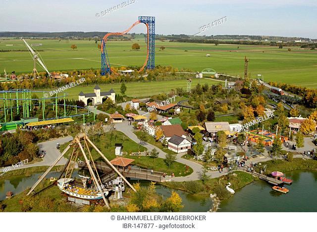 Allgaeu Allgaeu Skyline Park near Bad Woerishofen Unterallgaeu Schwaben Bavaria Germany
