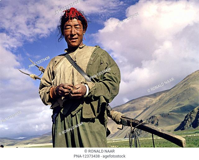 Chinese occupied Tibet in 1982, just after the end of the Cultural Revolution