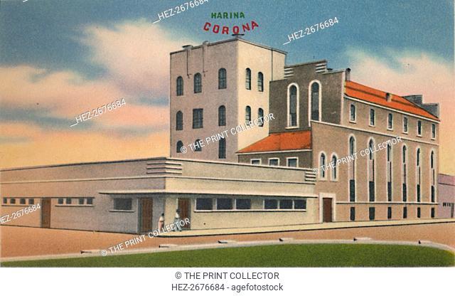 'Mills of Roncallo Hermanos & Co., S. A. Barranquilla', c1940s. Artist: Unknown