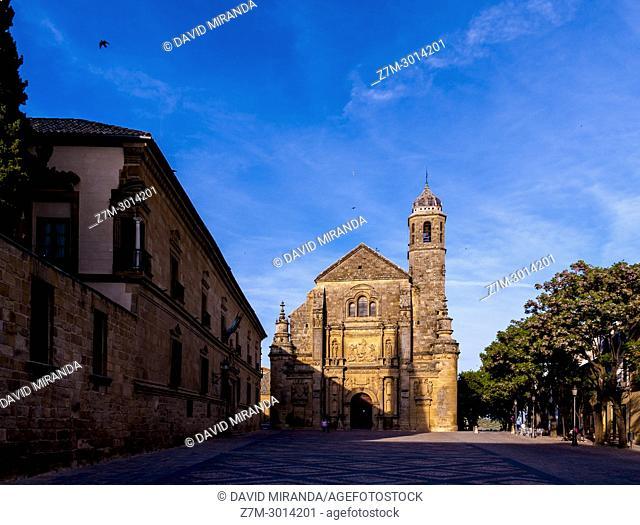 Capilla del Salvador. Úbeda. Jaén. Andalusia. Spain