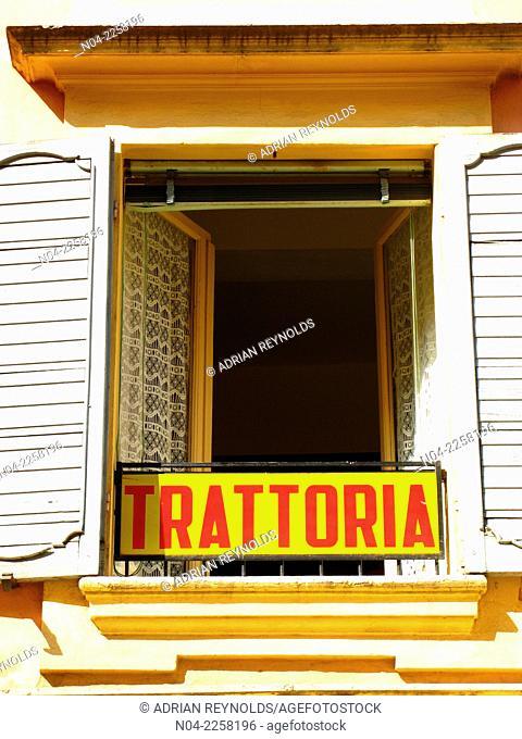 Lunch time at Trattoria Aldina, Modena, Emilia-Romagna