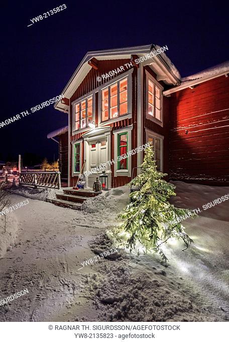 Wardshuset guest house in Kangos, Lapland, Sweden