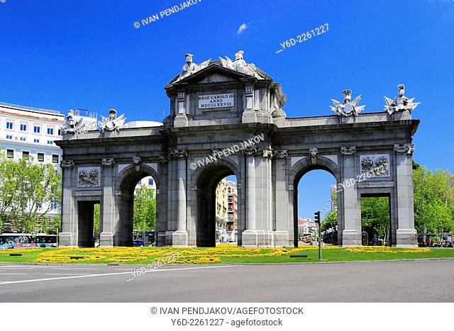 Alcala Gate, Madrid, Spain