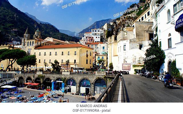 italy amalfi region of Campania