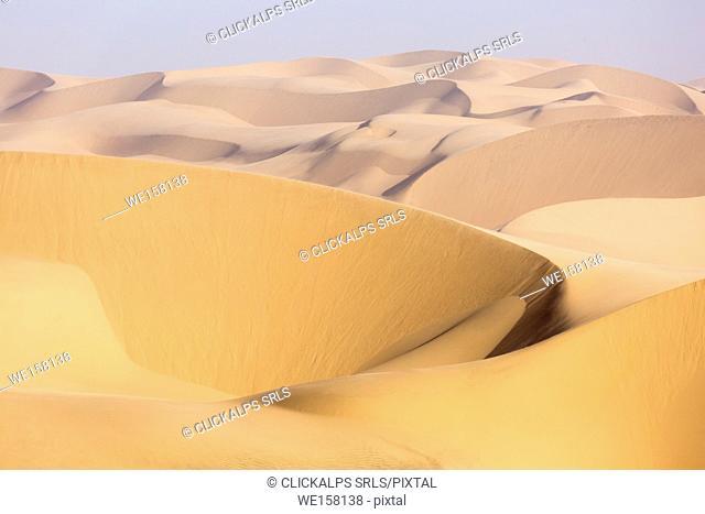 Namib desert, sand dunes. Namibia, Africa