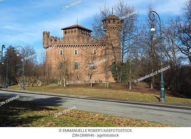 Valentino castle, Valentino Parc, Turin, Italy, Europe
