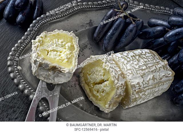 Neufchatel (French cheese from Normandy)