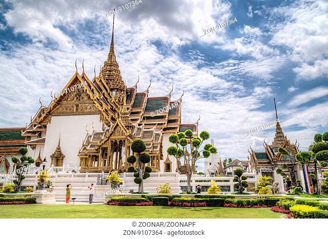 Dusit Maha Prasat Hall Bangkok Thailand