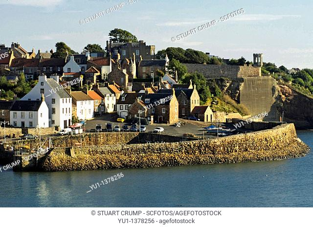 Crail Harbour, Crail, Fife, Scotland, United Kingdom