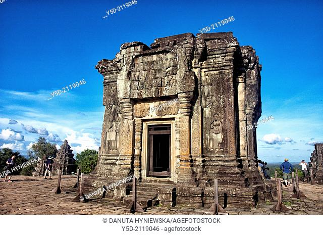Angkor temples, Phnom Bakheng, Cambodia