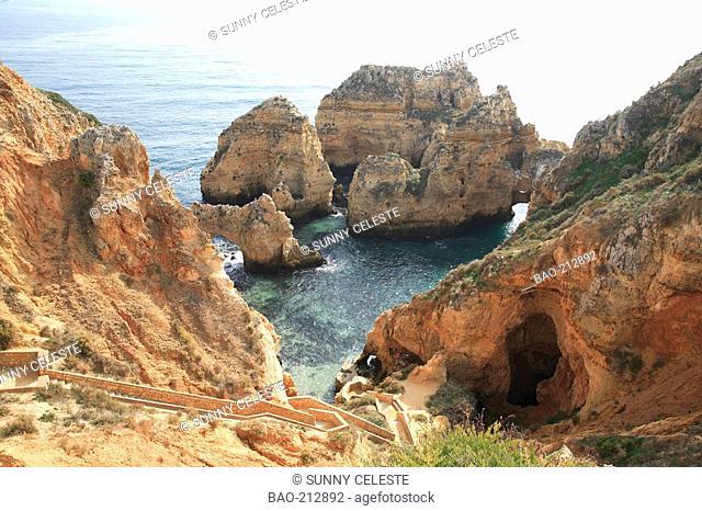 Praia da Piedade, Lagos, Algarve, Portugal
