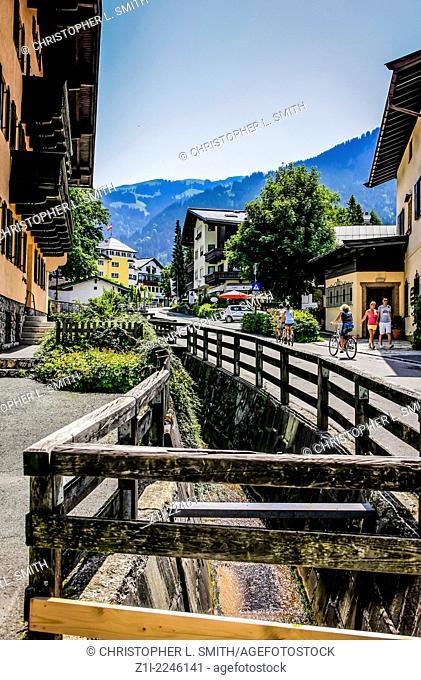Austrian village of Kitzbuhel in the Tyrol