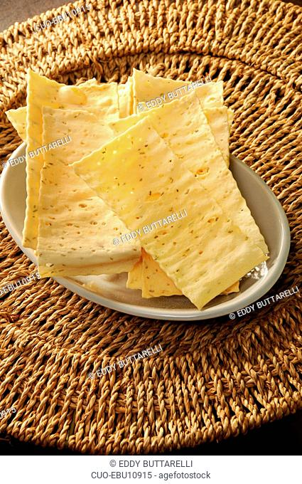 Rosemary crackers, Italy, Europe