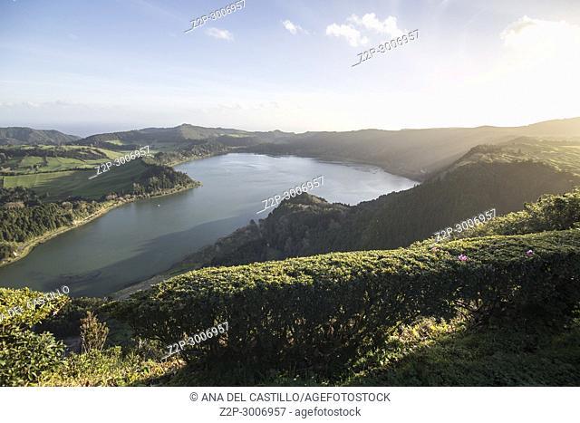Lagoa das Furnas, Furnas Valley - Sao Miguel island, Azores, Portugal
