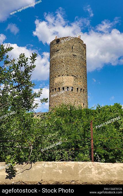 Suedtirol, Italy July 2020: Impressions of Suedtirol July 2020 Mals, Vinschgau, Froehlichsturm, Suedtirol | usage worldwide. - /Südtirol/Italien
