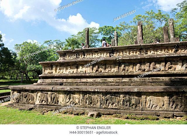 Sri Lanka, Polonnaruwa, Asia, Hindu temple