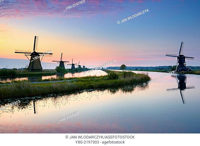 Kinderdijk windmills - Holland Netherlands