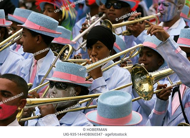 Traditional Cape Town Klopse music carnival