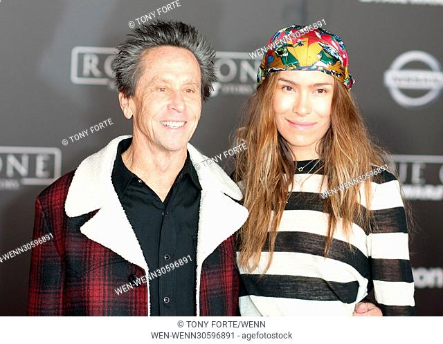 World premiere of 'Rogue One: A Star Wars Story' held at Pantages Theatre - Arrivals Featuring: Brian Grazer, Wife Where: Los Angeles, California