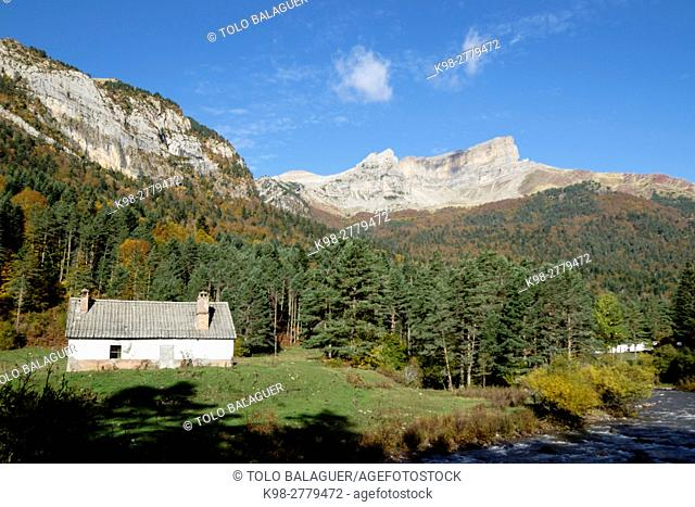 Chipeta Alto, 2175 meters, Valley of Hecho, western valleys, Pyrenean mountain range, province of Huesca, Aragon, Spain