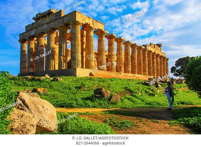 Ruins of Selinunte, Sicily, Italy