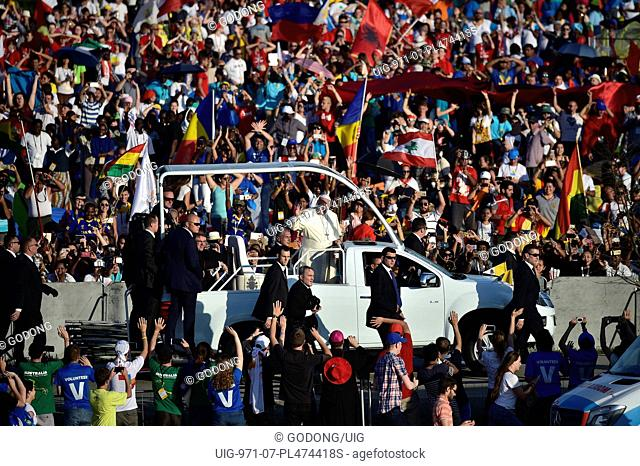 World Youth Day, Pope's car
