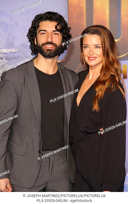 """Justin Baldoni, Emily Baldoni at Sony Pictures' """"""""Jumanji: The Next Level"""""""" World Premiere held at the TCL Chinese Theater in Hollywood, CA, December 9, 2019"""