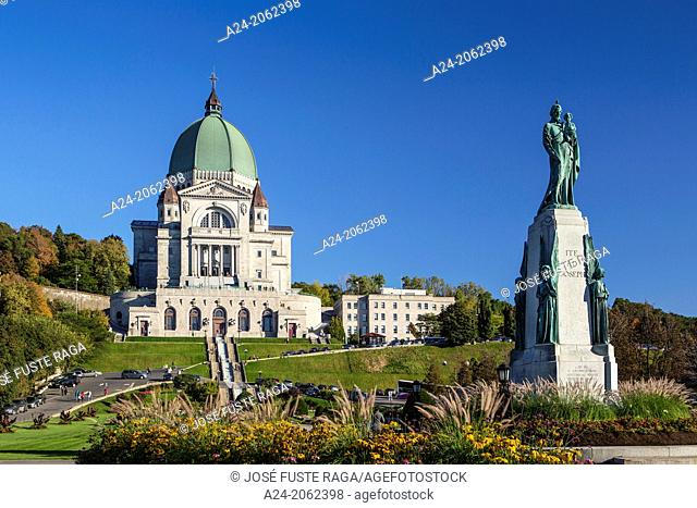 Canada , Quebec Province , Montreal City , St. JosephÂ's Oratory , Basilica, Mont Royal