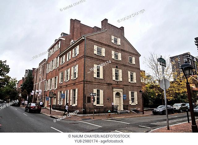 The Old City neighborhood, Philadelphia, Pennsylvania, USA