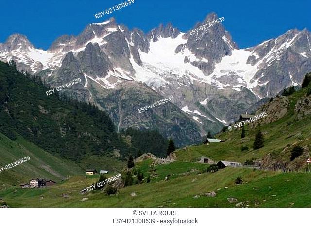 Berglandschaft, Zentralschweiz