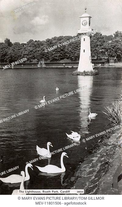 The Lighthouse, Roath Park, Cardiff, South Wales