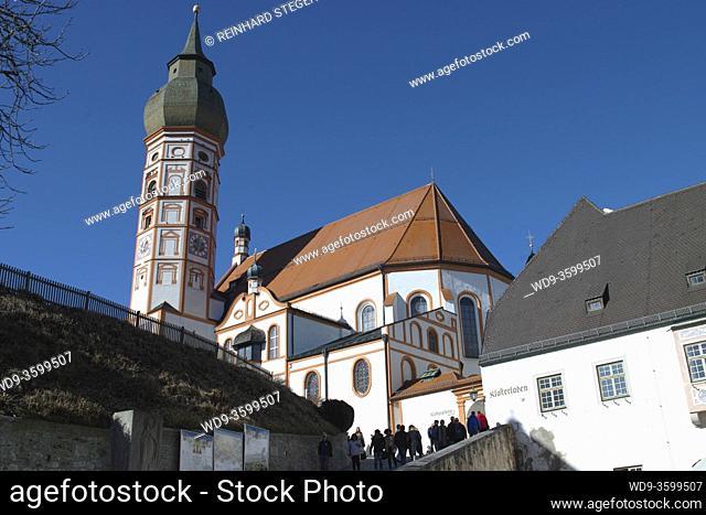 monastery Andechs, monarchs brew beer, famous beer brewery