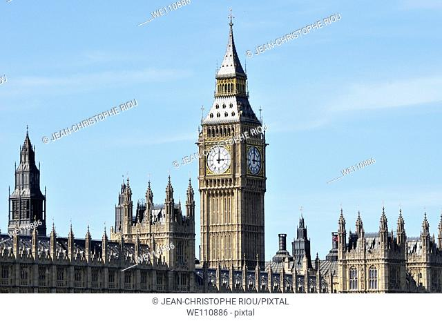 Big Ben and Palace of Westminster, London, England, UK