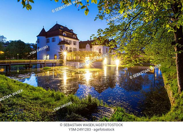 Bottmingen Castle, Canton of Basel-Land, Switzerland