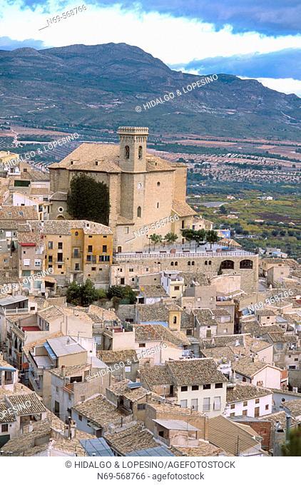 Moratalla. Asunción church. XVth. Murcia province. Spain