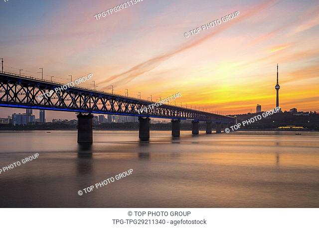 Wuhan Yangtze River Bridge;Hubei;Wuhan;China