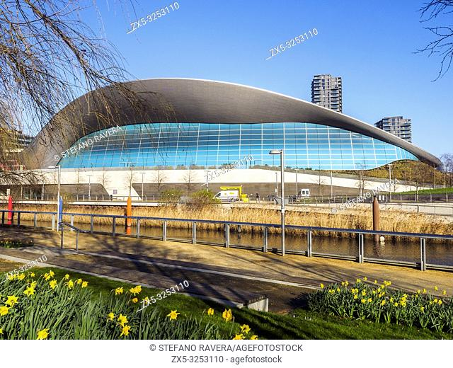 London Aquatics Centre at the Queen Elizabeth Olympic Park in Stratford - East London, England