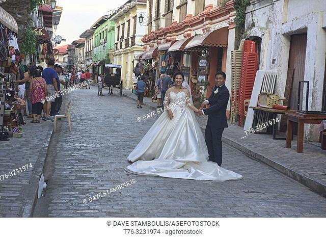 Getting married in historic Vigan, Ilocos Sur, Philippines