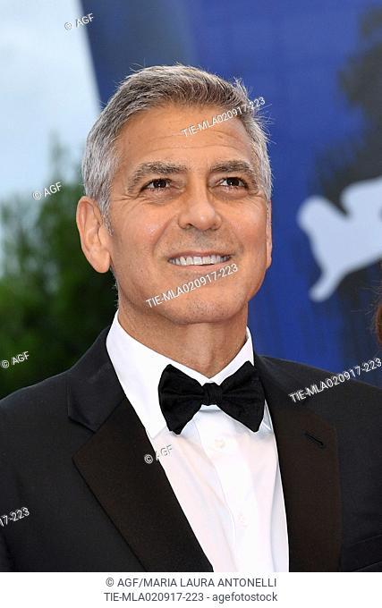 George Clooney during 'Suburbicon' premiere, 74th Venice Film Festival, Venice 02/09/2017