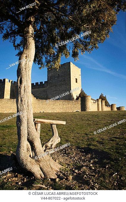 Castle, Pedraza. Segovia province, Castilla-Leon, Spain