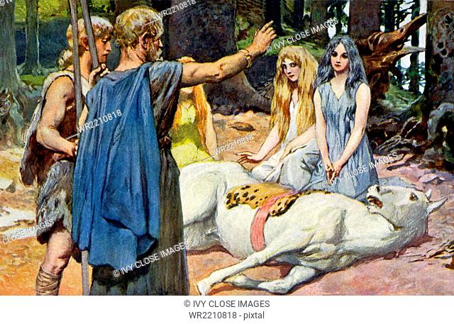 According to norse mythology Stock Photos and Images | age