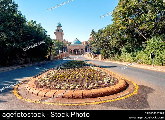 Sun City or Lost City, big entertainment center in South Africa like Las Vegas in North America