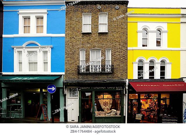Portobello Road, Notting Hill, London, England, UK, Europe