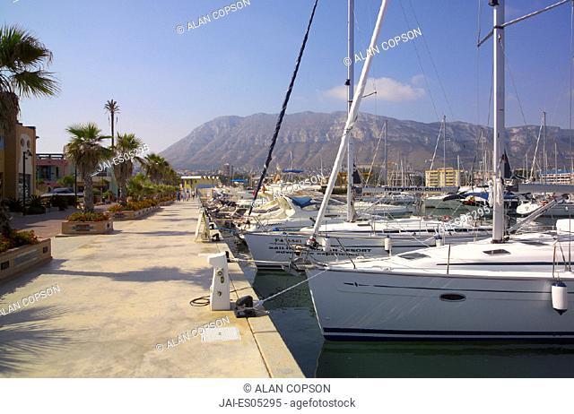 Denia, Costa Blanca, Alicante Province, Spain