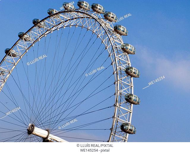 London Eye, detail